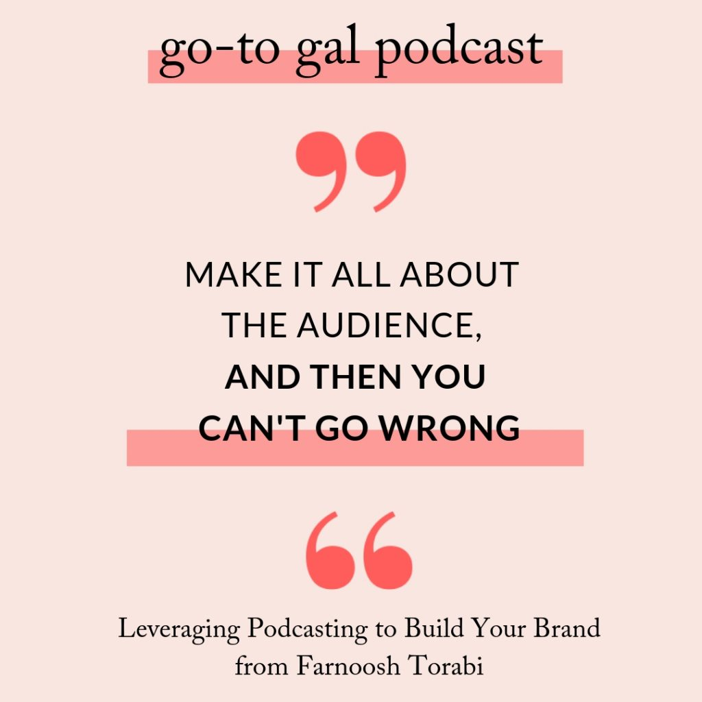 Go-To Gal Podcast Quote