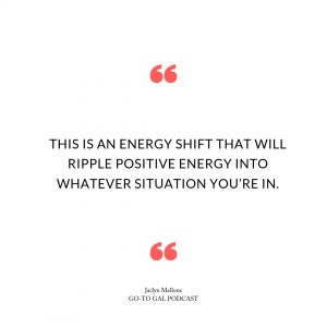 This is an energy shift that will ripple positive energy into whatever situation you are in.