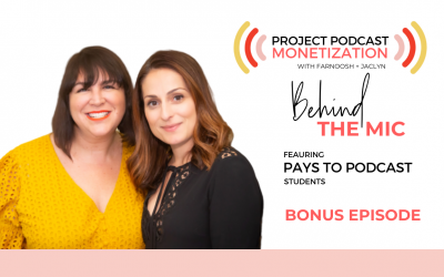 BONUS: Podcast Monetization   Behind The Mic with PRP Students
